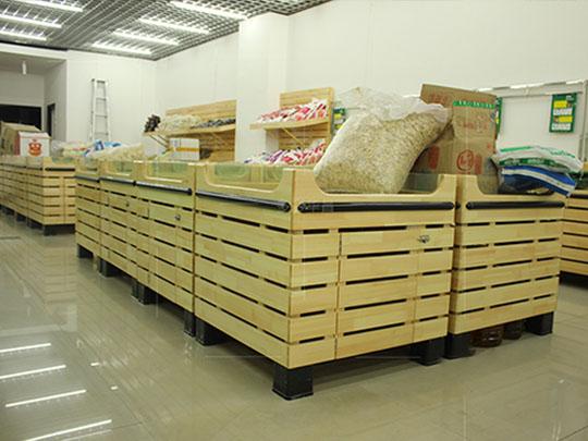 木制散装柜货架