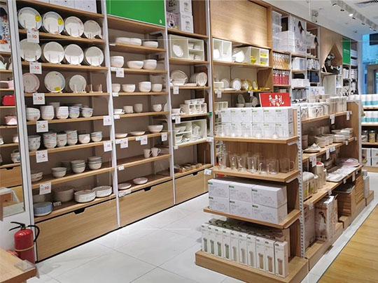 云南陶瓷精品货架