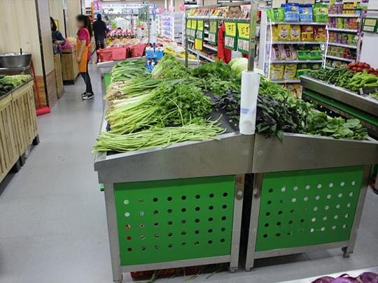 超市蔬果货架