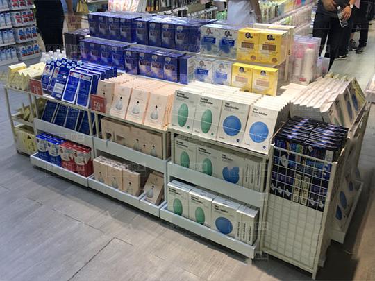 昆明化妆品面膜货架