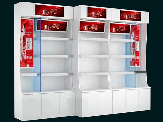 云南烤瓷化妆品货架