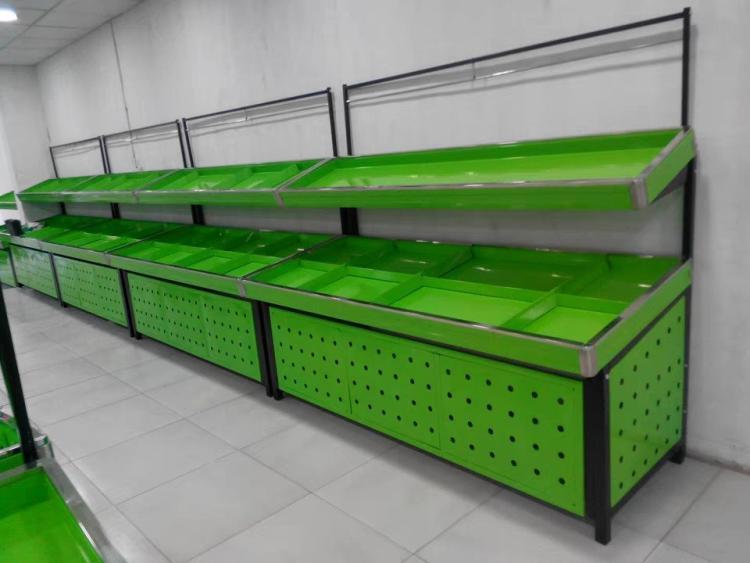 昆明生鲜超市水果货架定制