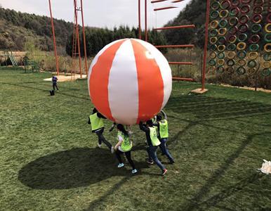 顶气球趣味拓展