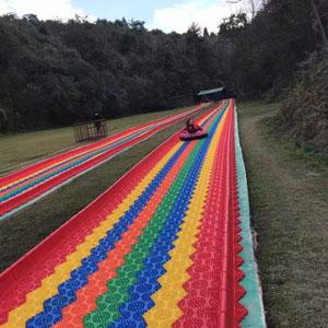 山庄彩色滑道