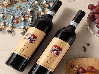 茅台美乐干红葡萄酒