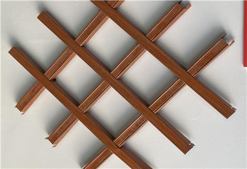 咸阳铝格栅天花吊顶材料