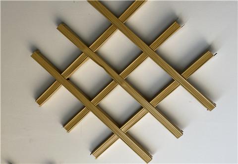 西安铝格栅天花吊顶材料