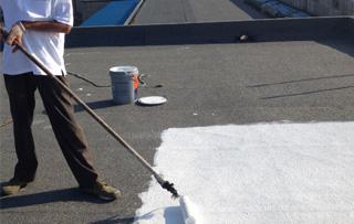 防水卷材空铺法施工步骤