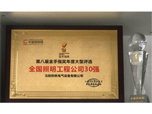 中国照明网举办 第八届金手指奖