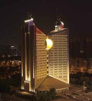 建筑景观照明方式