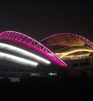 沈阳奥体中心建筑照明