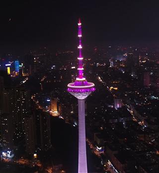 沈阳彩电塔景观照明