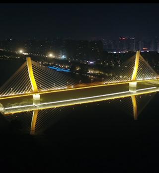 沈阳富民桥景观照明