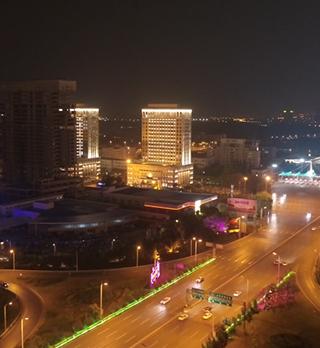 沈阳市公安局建筑照明