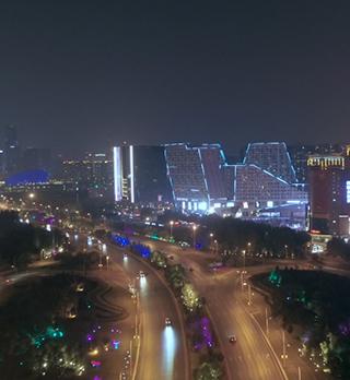 沈阳花园城景观照明