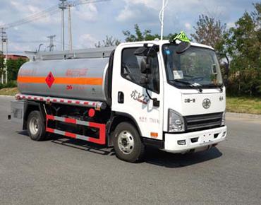 5立方小解放油车丹凌牌HLL5070GJYCA5型加油车