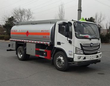 10立方欧马可油车丹凌牌HLL5120GJYB6型加油车