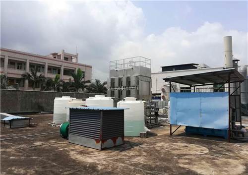 工业湿式静电除烟设备