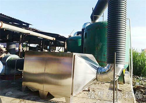 塑料厂工业油烟净化