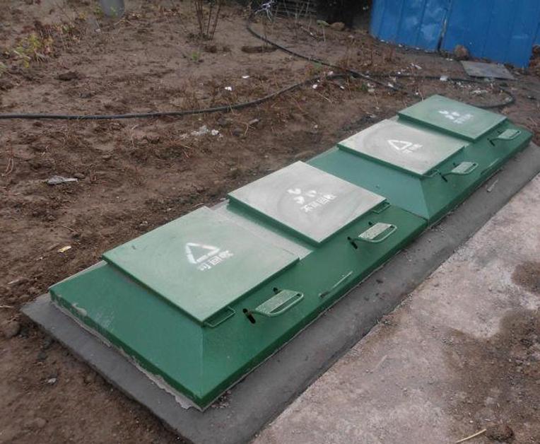 小区地埋垃圾桶
