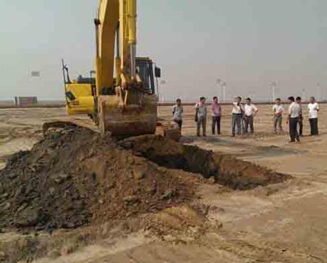 土石方工程开挖边坡放样方法