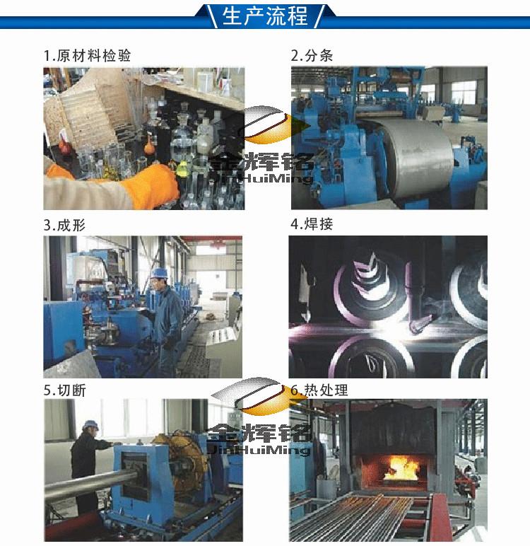 金辉铭不锈钢水管生产流程