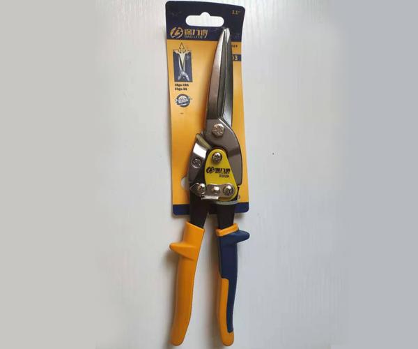 Lengthened stainless steel scissors