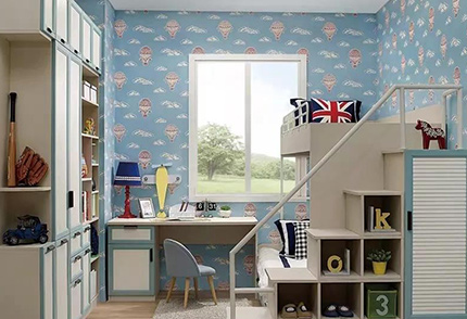 生态板现代轻奢卧室定制