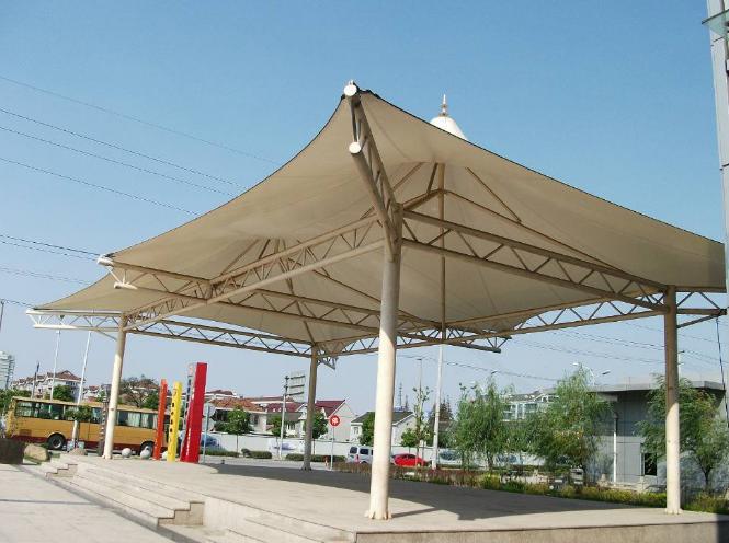 膜结构停车棚未来创造才是发展的硬道理