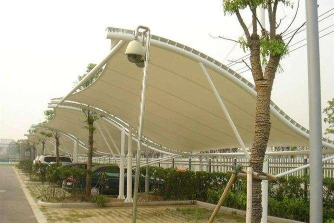 膜结构停车棚景观棚