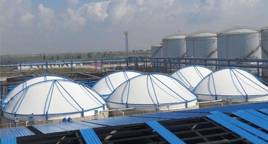 污水池膜结构