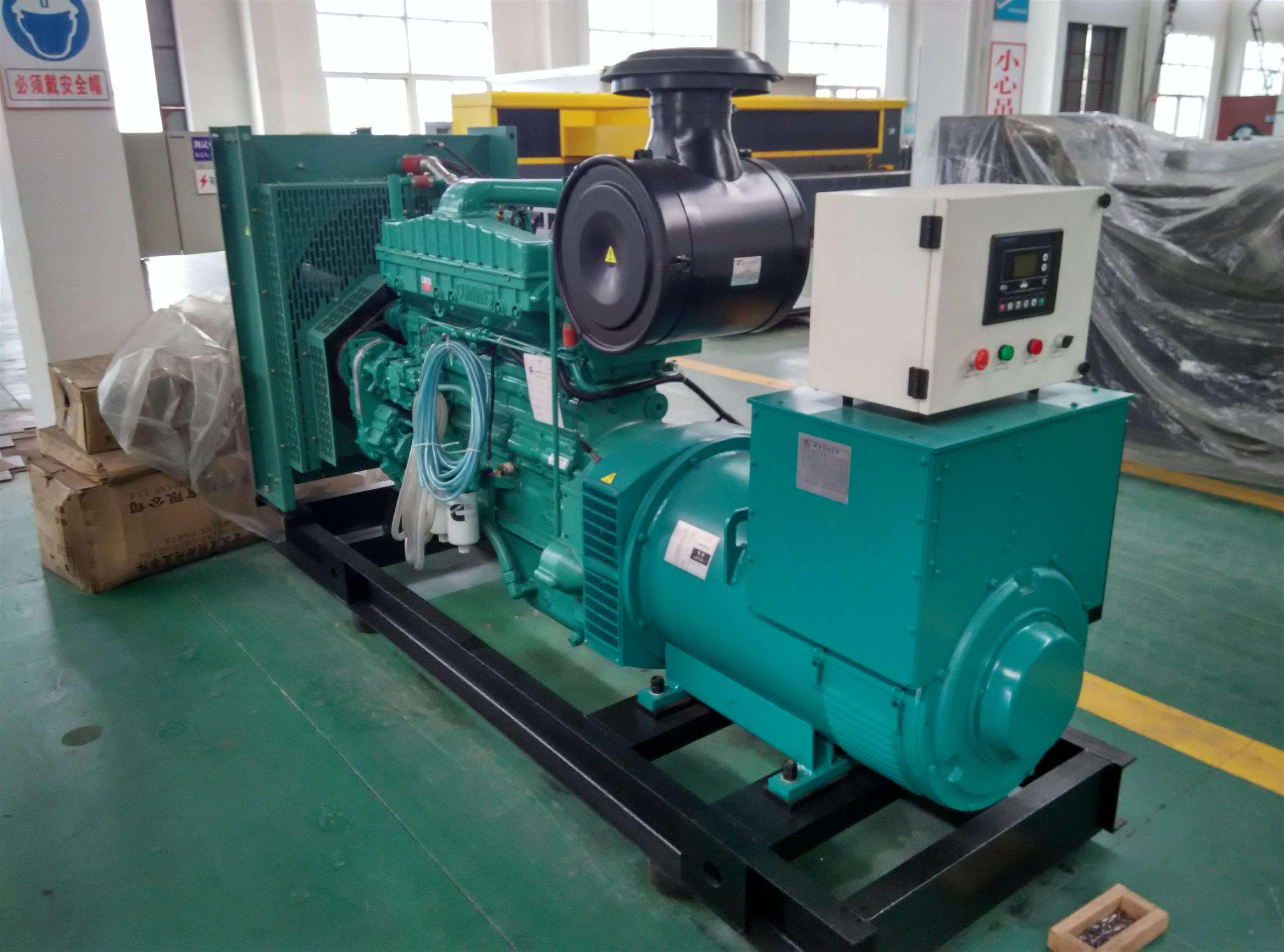 济柴发电机组输出电压不稳定故障及处理方法