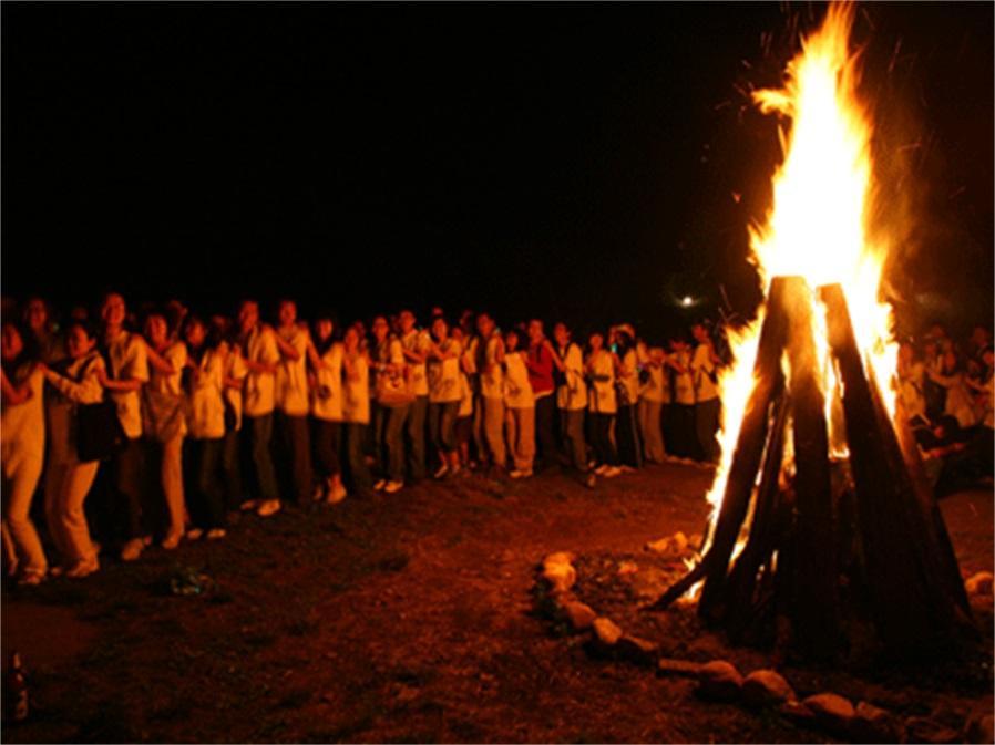 团队篝火晚会