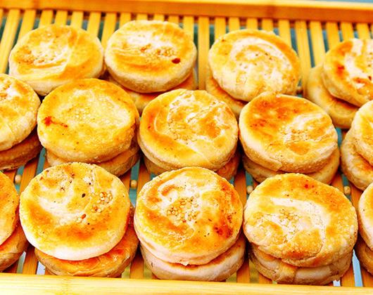 香酥板栗饼技术