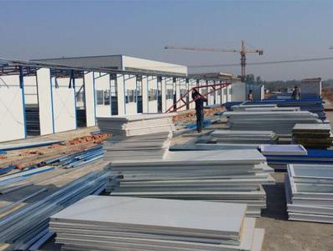 钢结构板房材料
