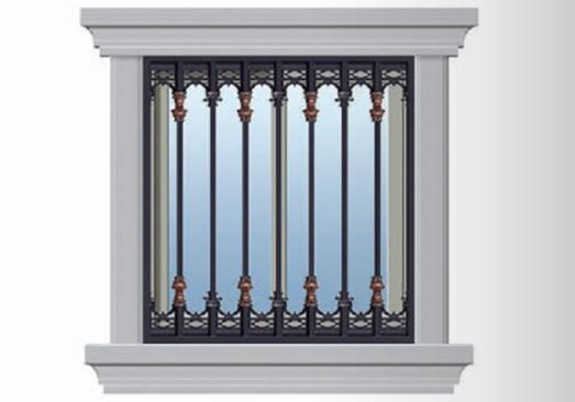 铝艺防护窗定制
