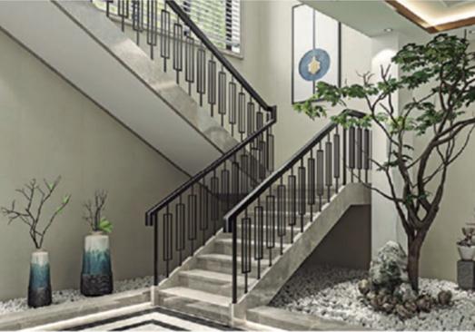 铝艺楼梯扶手的安装要求