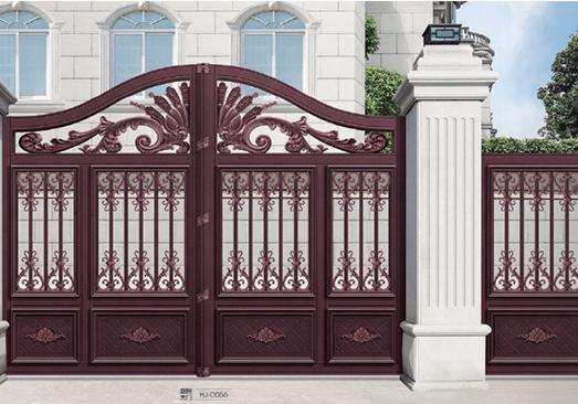 煌景金属告诉您别墅铝艺大门怎么安装和验收