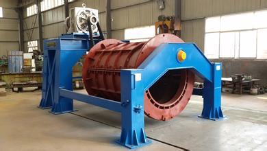 水泥制管机进气的正确处理方式