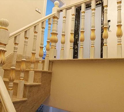 重庆法式风格楼梯定制