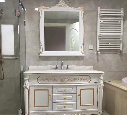重庆法式风格浴室柜定制