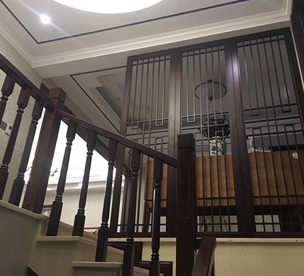 重庆现代中式楼梯定制