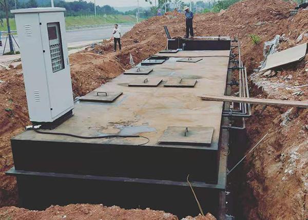 生活污水地埋一體化污水處理