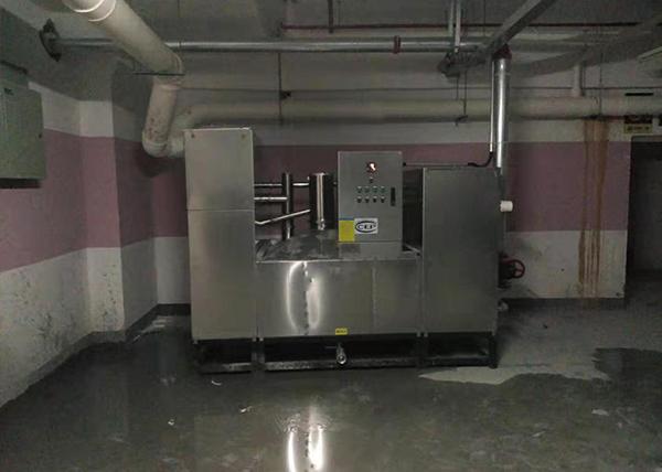 食堂自動隔油處理設備