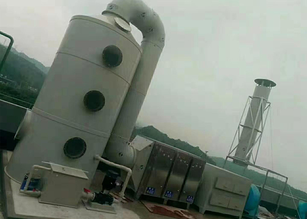 噴涂廢氣處理系統