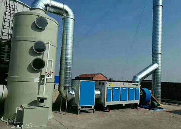 廢氣處理設備安裝方案的注意事項