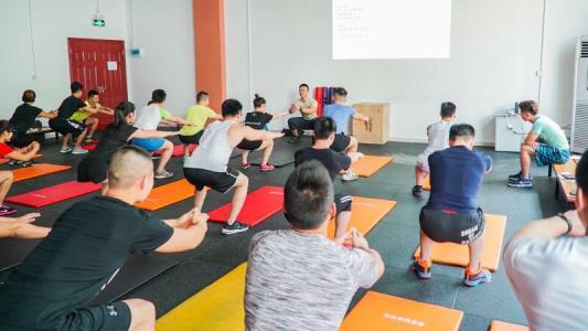 西安健身教练培训
