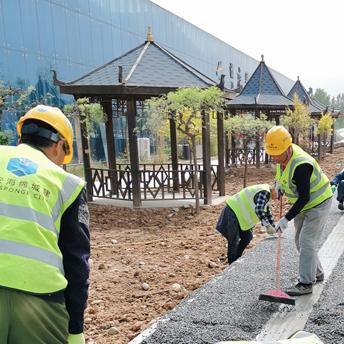 灞河北岸透水项目