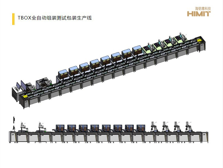 TBOX全自动组装测试包装生产线