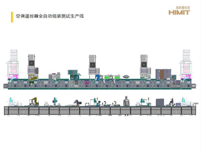 空调遥控器全自动组装测试生产线